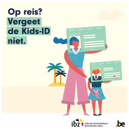 Op reis? Vergeet de Kids-ID niet.