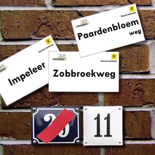 Straatnaamwijziging en hernummering
