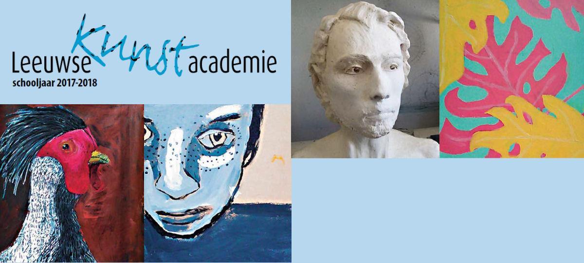 Inschrijvingen Leeuwse Kunstacademie schooljaar 2017-2018