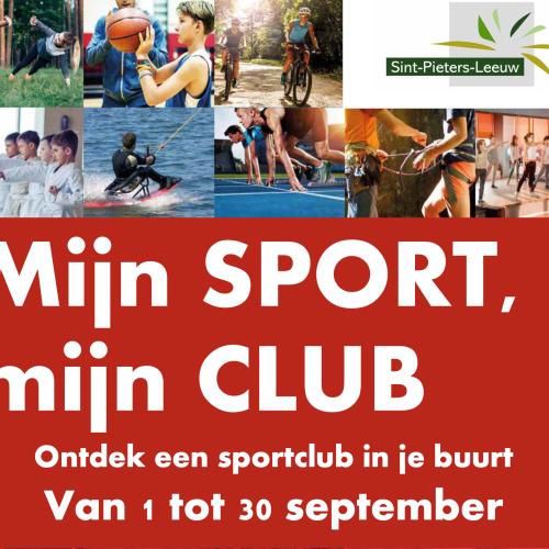 Mijn sport, mijn club