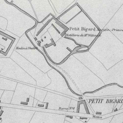 Kaart Philippe Vandermaelen, 1777.