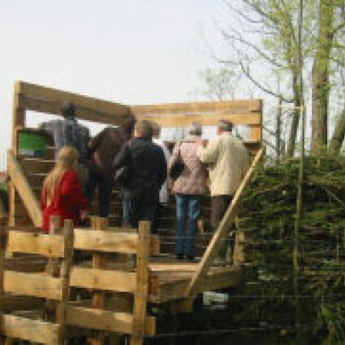 Zuunvallei - kijkwand in Volsembroek