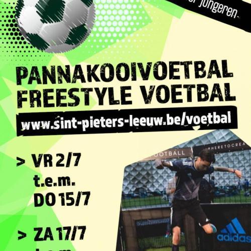 Pannakooivoetbal/freestyle voetbal