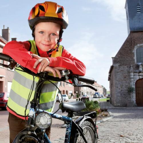 Kijk! Ik fiets!